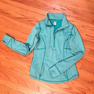Turquoise Lucy Half Zip, perfect condition